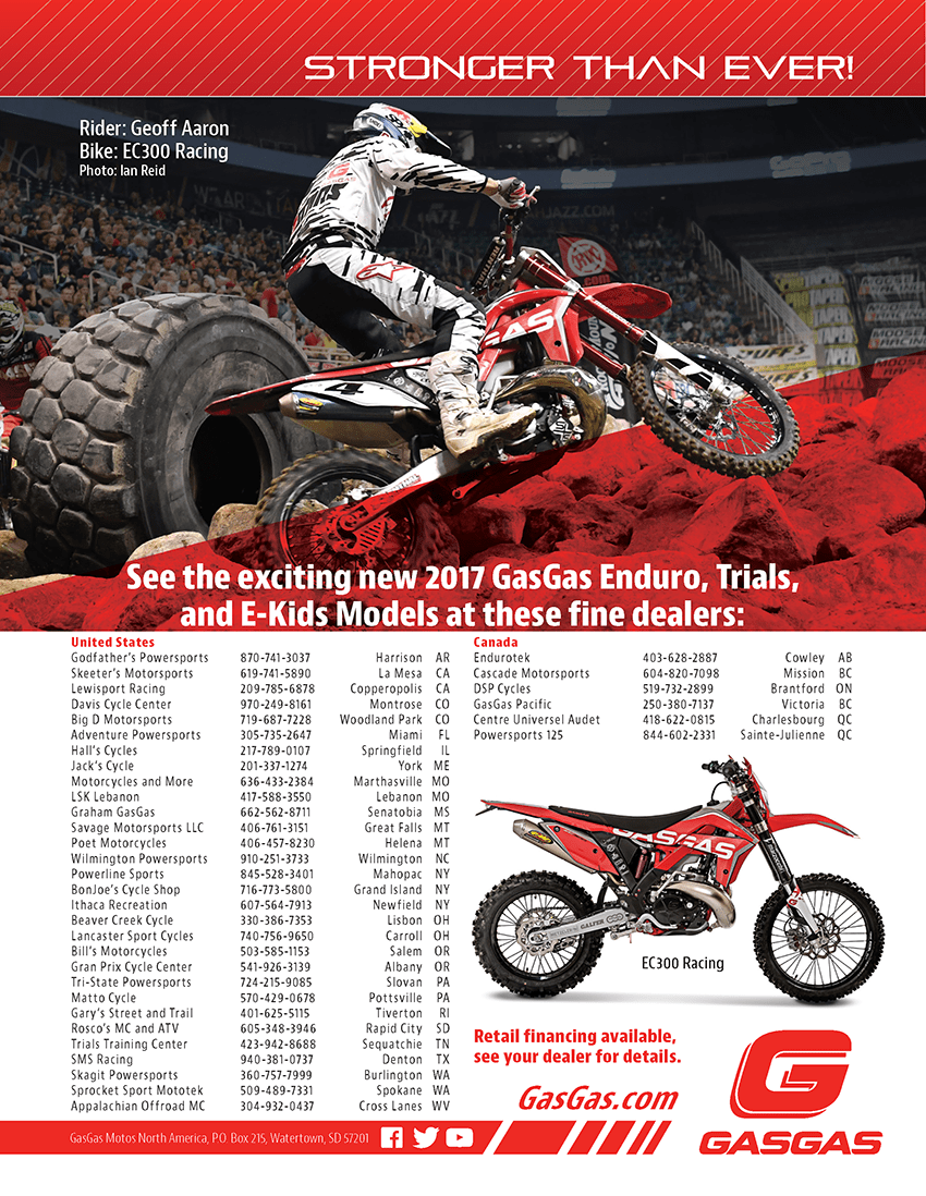GasGas Dirt Bike Magazine